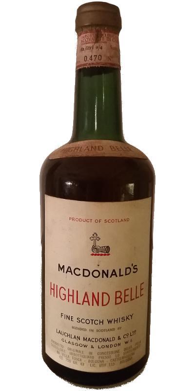 MacDonald's Highland Belle
