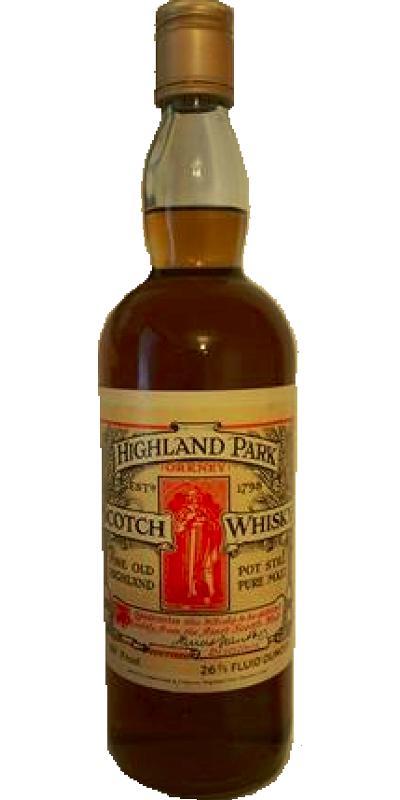 Highland Park Fine Old Highland Pot Still Pure Malt