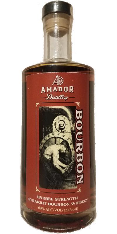Amador Barrel Strength Straight Bourbon Whiskey