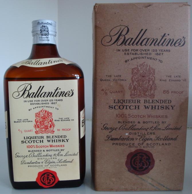 Ballantine's Liqueur Blended Scotch Whisky
