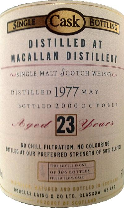 Macallan 1977 DL