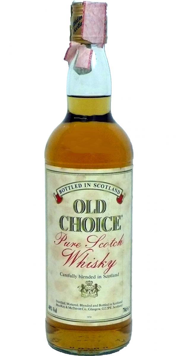 Old Choice Pure Scotch Whisky