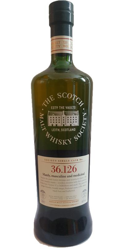 Benrinnes 2006 SMWS 36.126