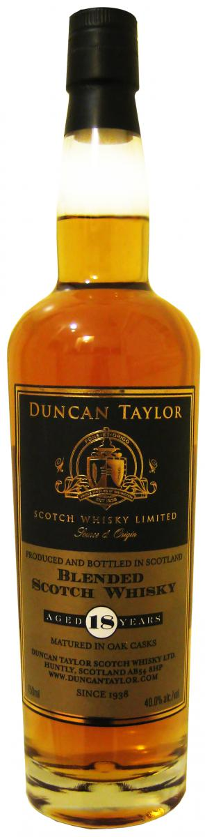 Blended Scotch Whisky 18-year-old DT