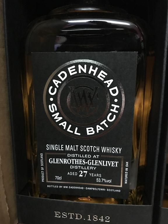 Glenrothes 1989 CA