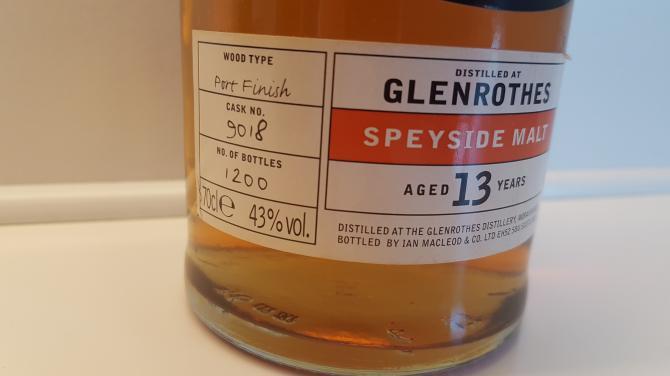 Glenrothes 1988 IM