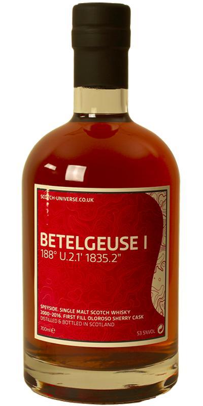 """Scotch Universe Betelgeuse 1 - 188° U.2.1' 1835.2"""""""
