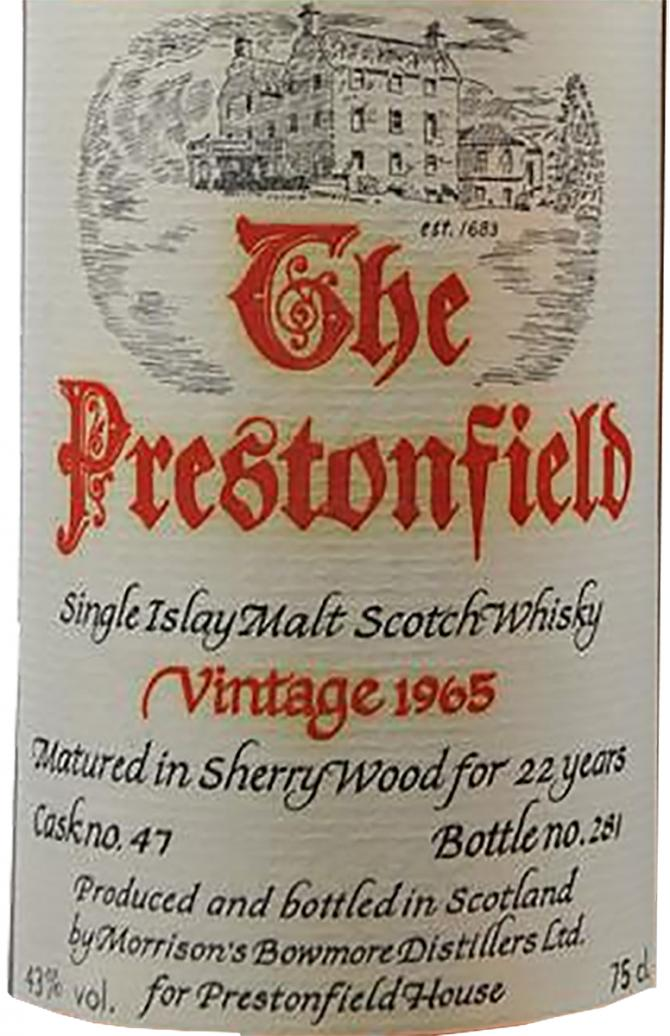 The Prestonfield 1965 MBo