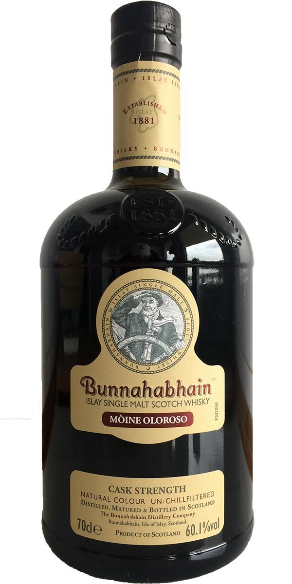 Bunnahabhain Mòine Oloroso