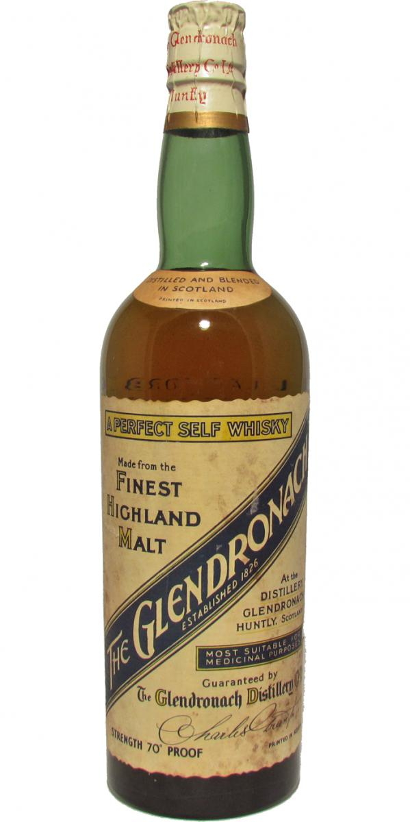 Glendronach A Perfect Self Whisky