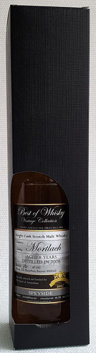 Mortlach 2008 BoW