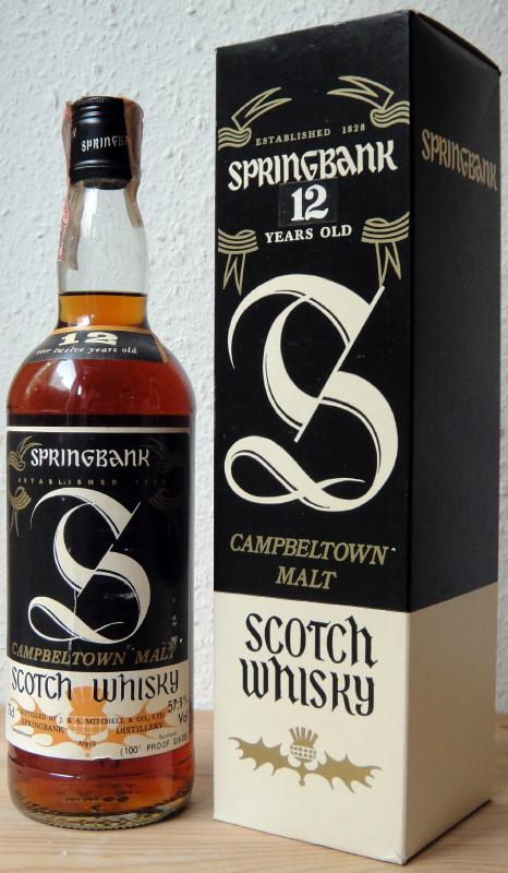 Springbank 100 Proof