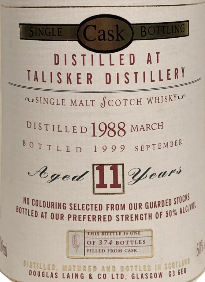 Talisker 1988 DL