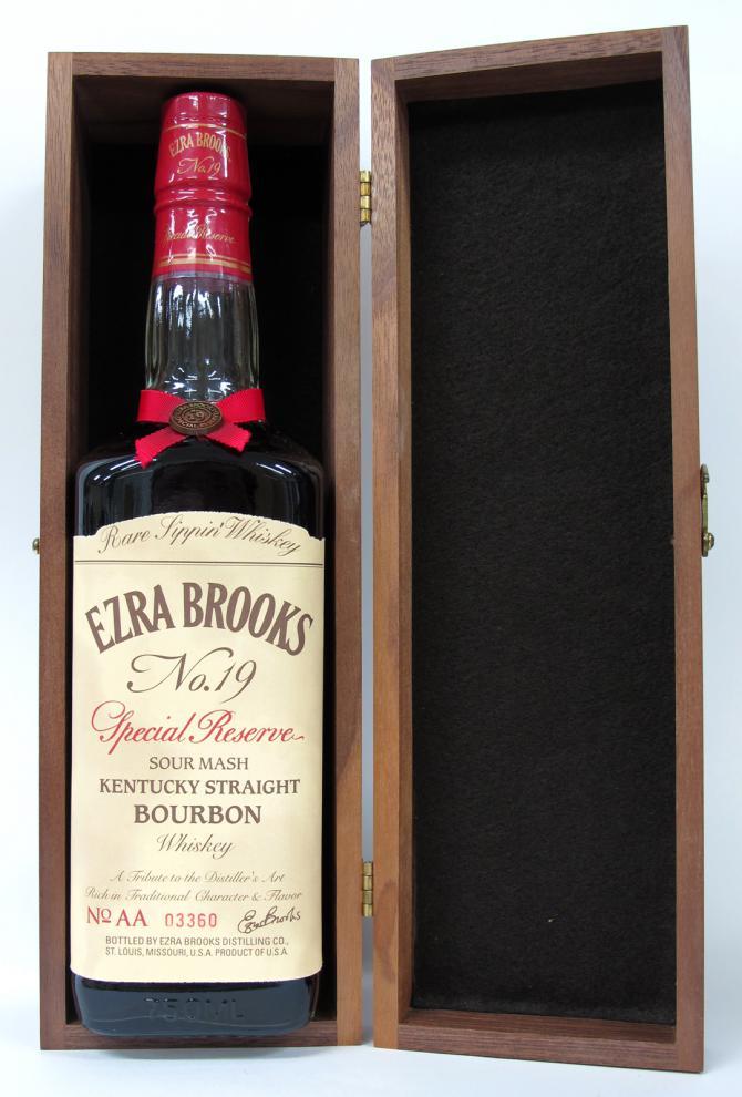 Ezra Brooks No.19