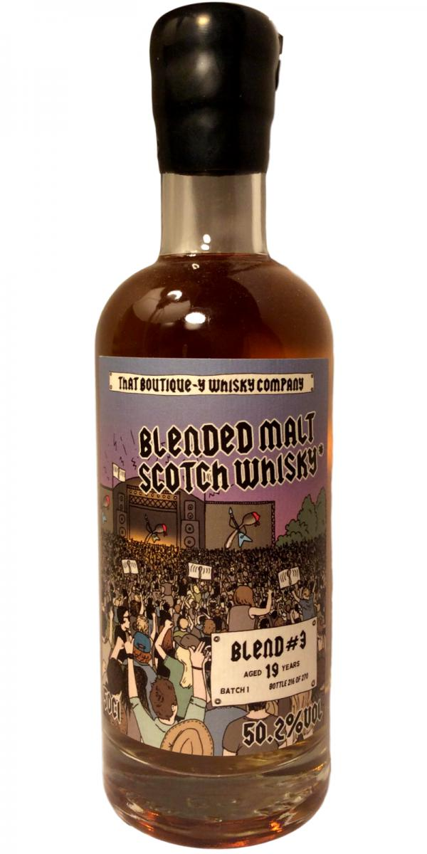 Blended Malt Scotch Whisky #3 TBWC