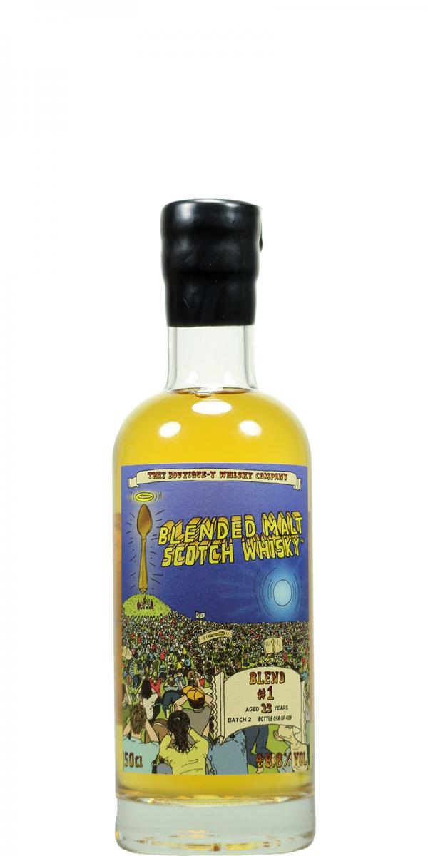 Blended Malt Scotch Whisky #1 TBWC
