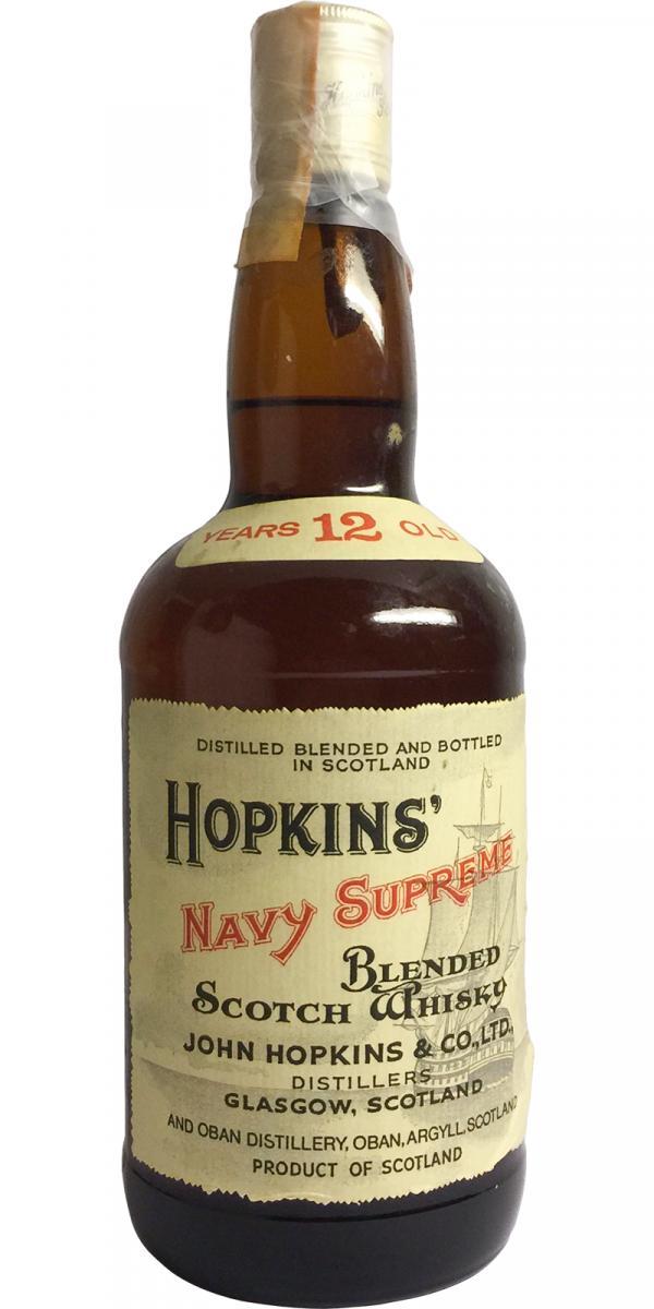 Hopkins' Navy Supreme 12-year-old