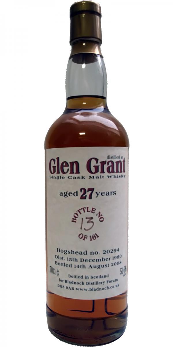 Glen Grant 1980 BF