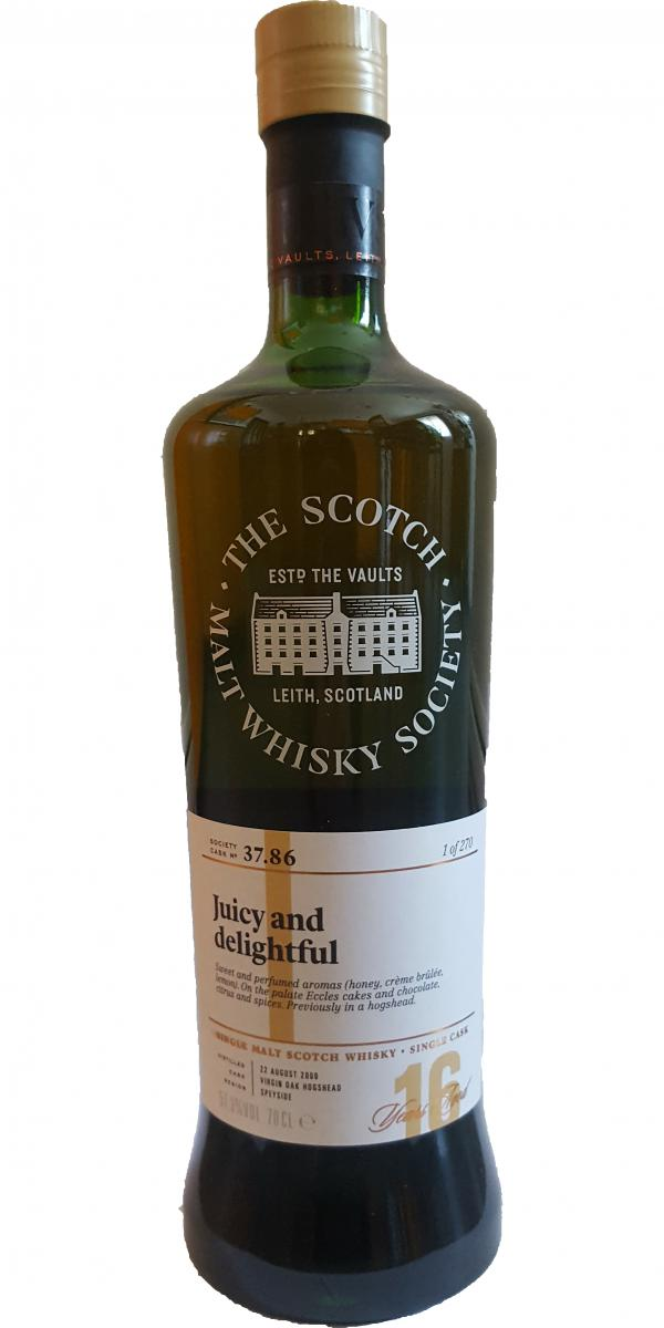 Cragganmore 2000 SMWS 37.86