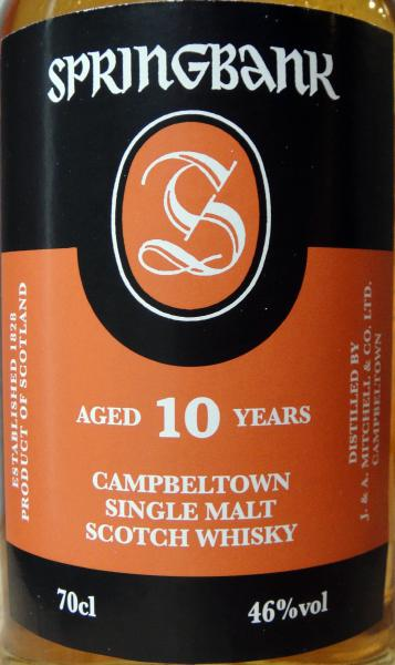 Springbank 10-year-old