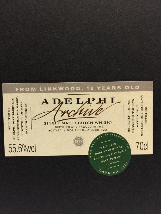 Linkwood 1989 AD