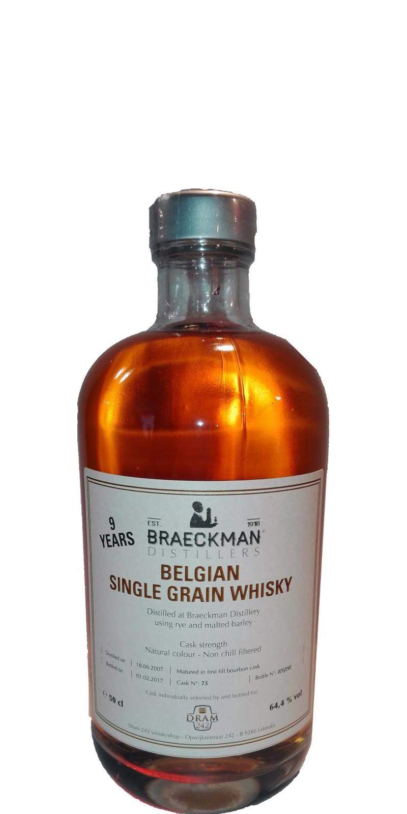 Braeckman Distillers 2007