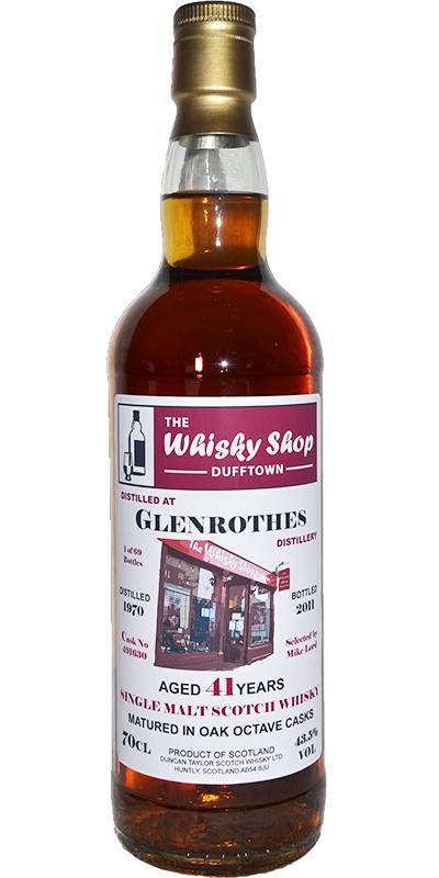 Glenrothes 1970 DT
