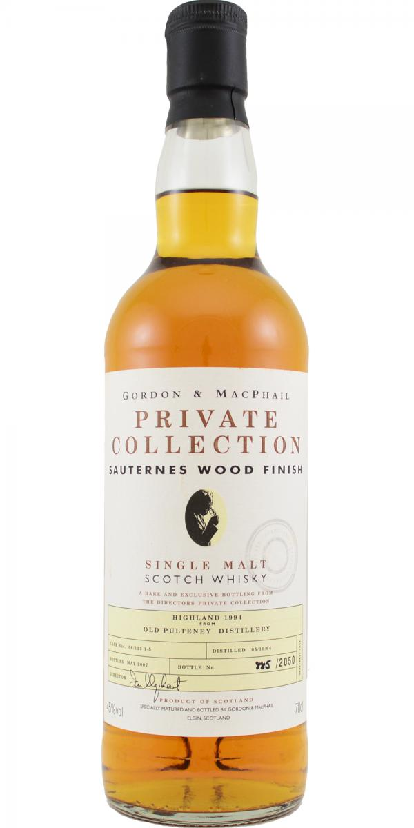 Old Pulteney 1994 GM