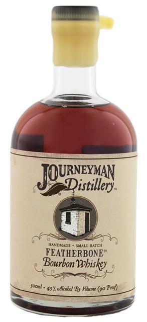 Journeyman Distillery Featherbone Bourbon Whiskey