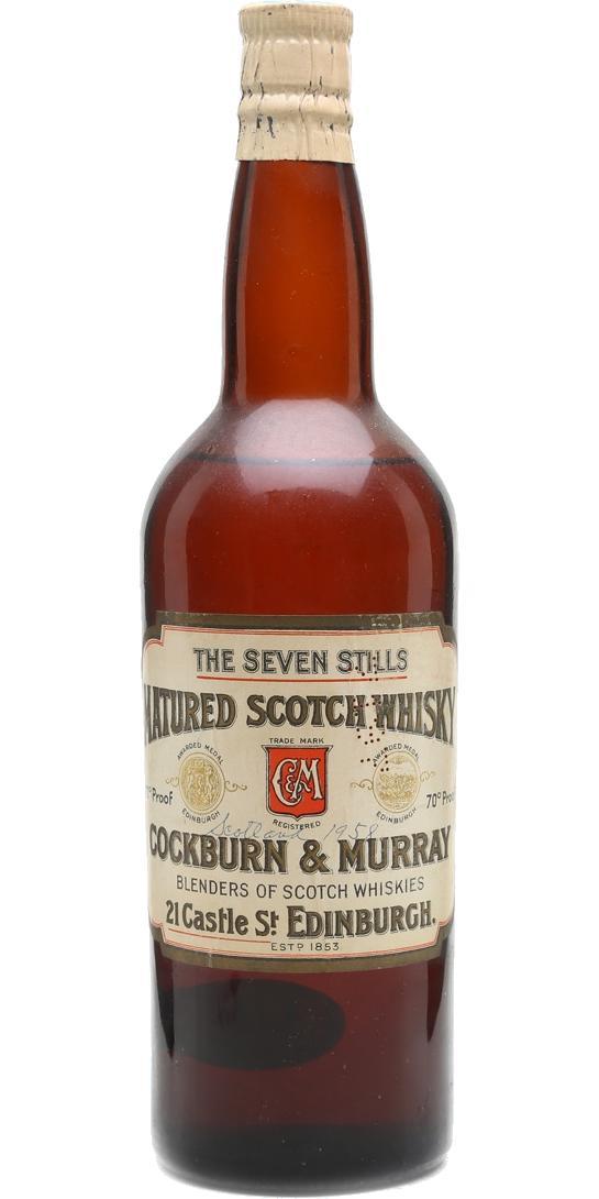 The Seven Stills Matured Scotch Whisky