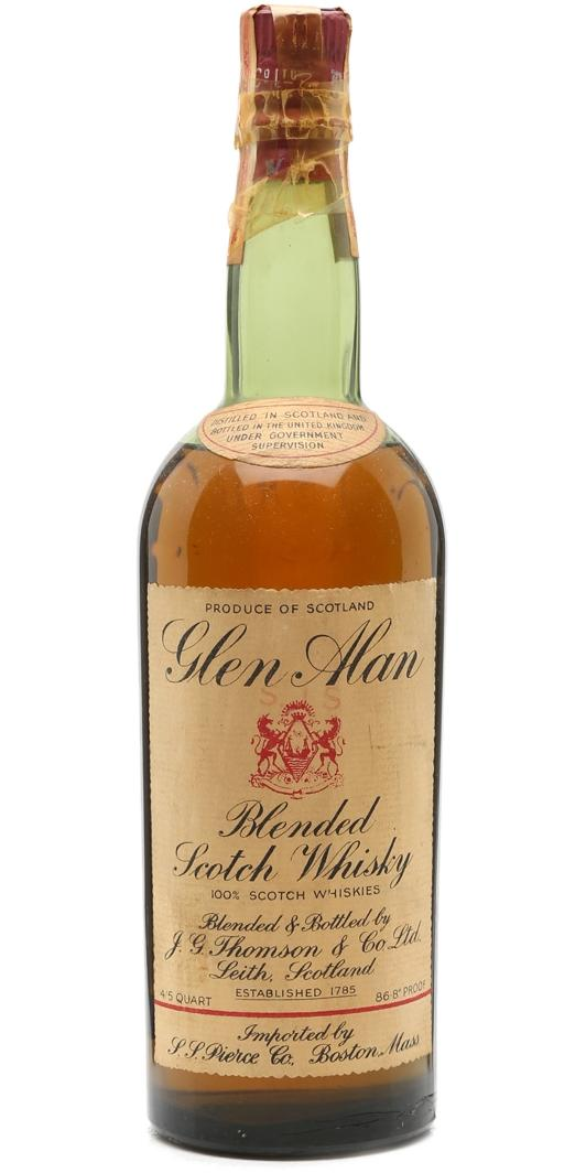 Glen Alan Blended Scotch Whisky