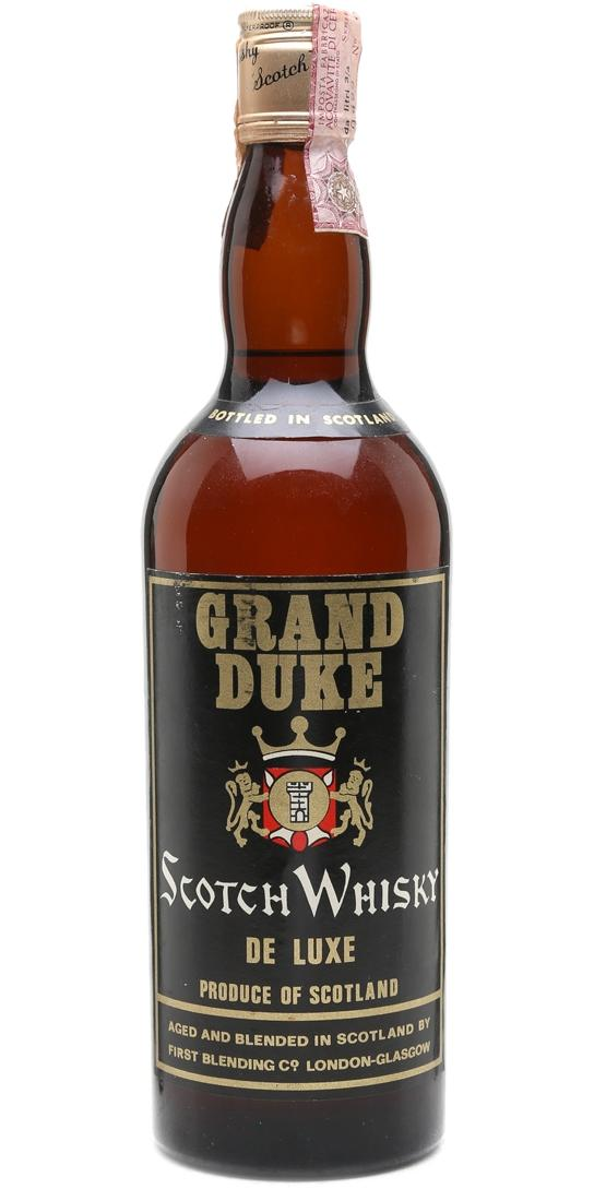 Grand Duke Scotch Whisky De Luxe