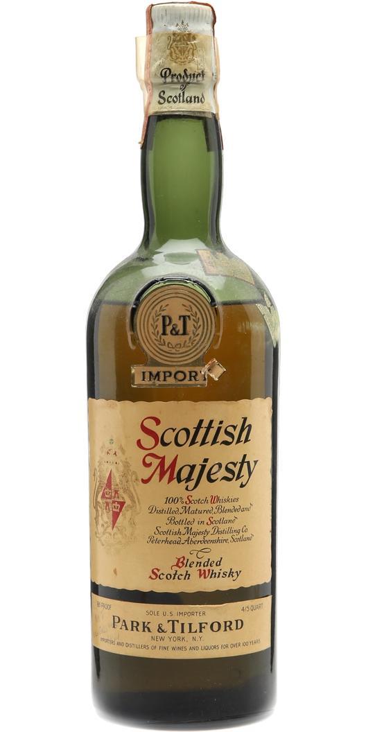 Scottish Majesty Blended Scotch Whisky