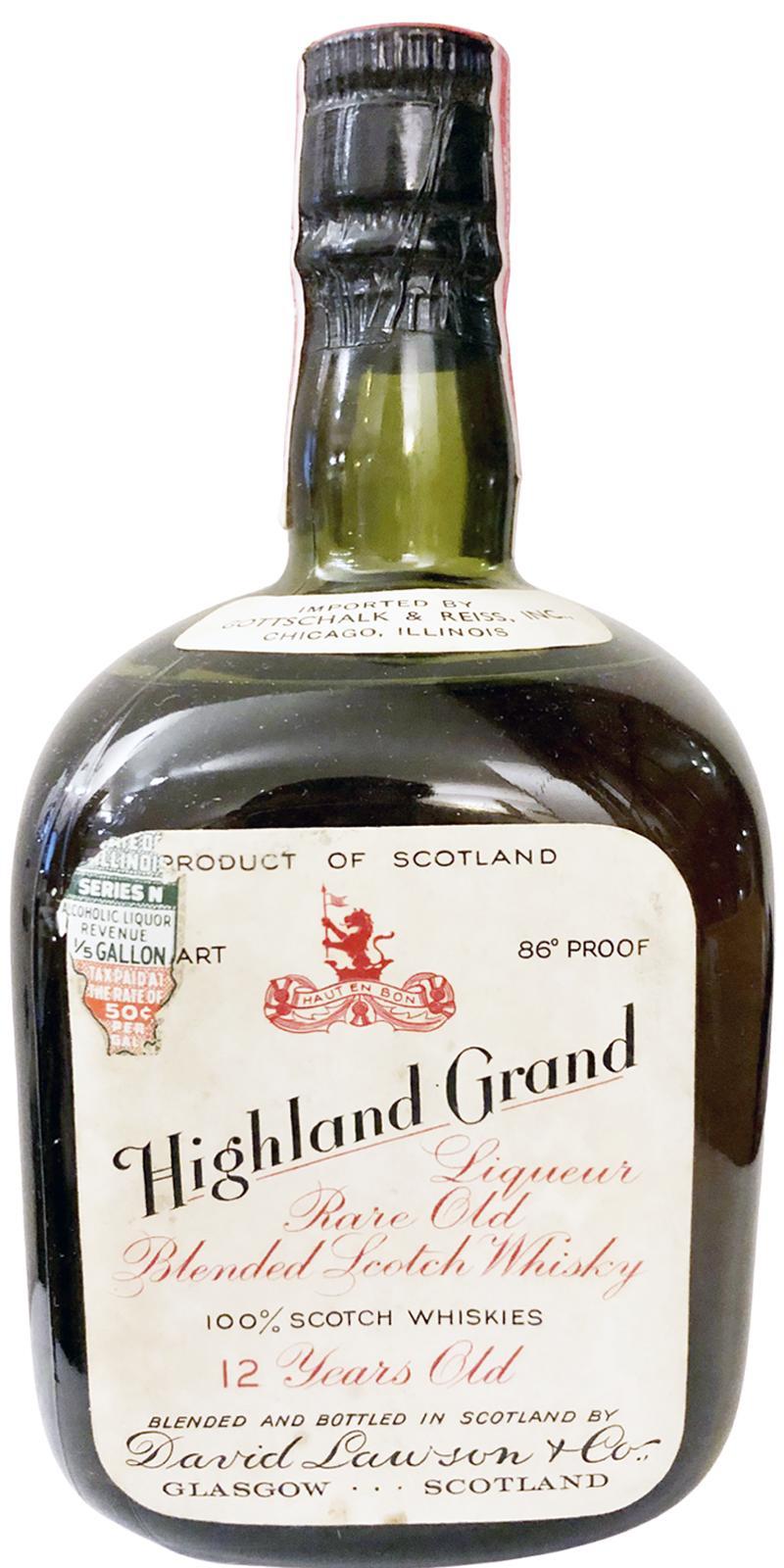 Highland Grand 12-year-old