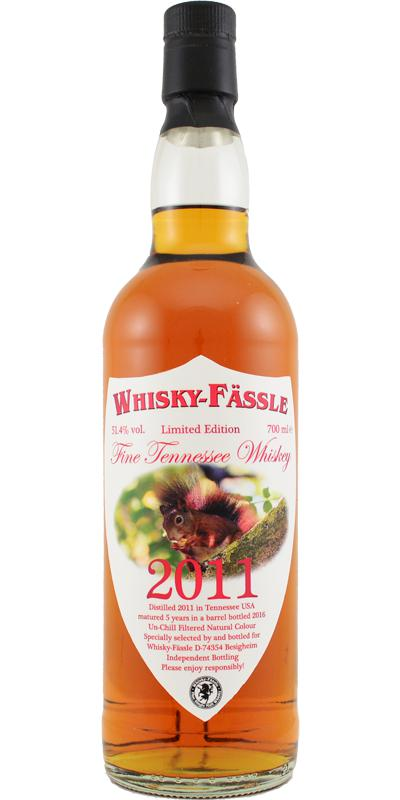 Fine Tennessee Whiskey 2011 W-F