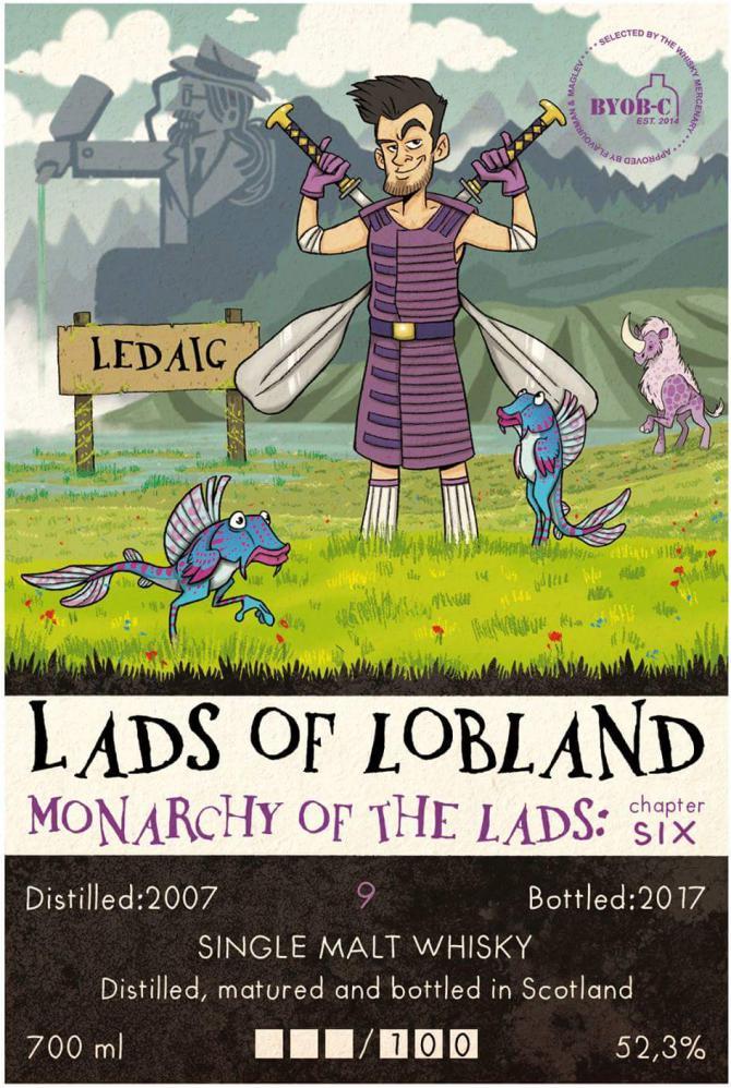 Ledaig 2007 TWM BYOB-C | Lads of Lobland