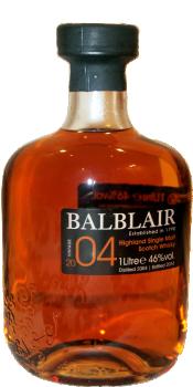 Balblair 2004