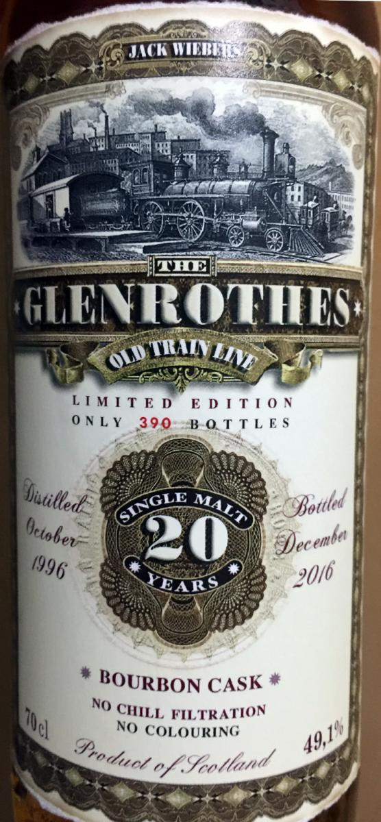 Glenrothes 1996 JW