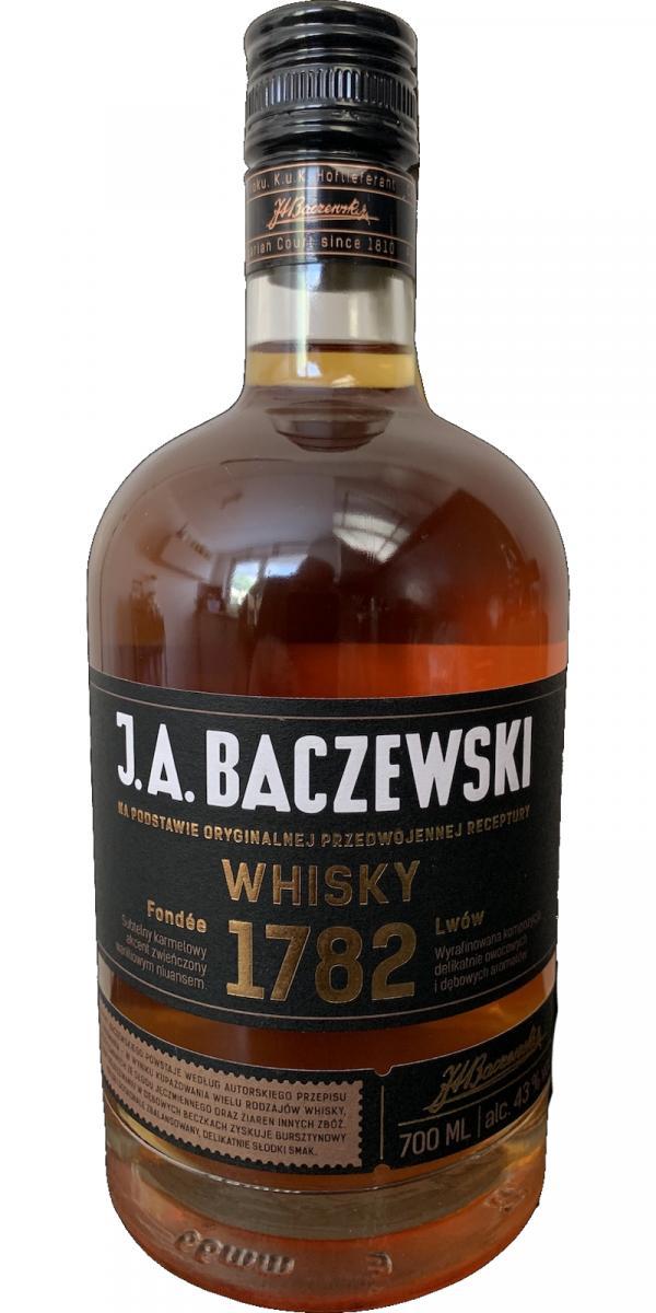 J.A. Baczewski Whisky