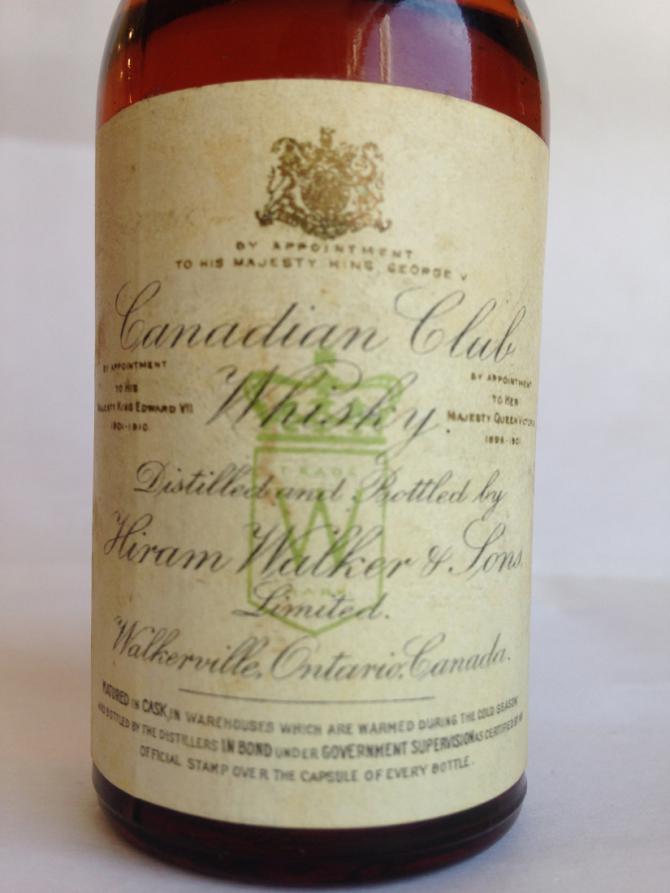 Canadian Club 1929