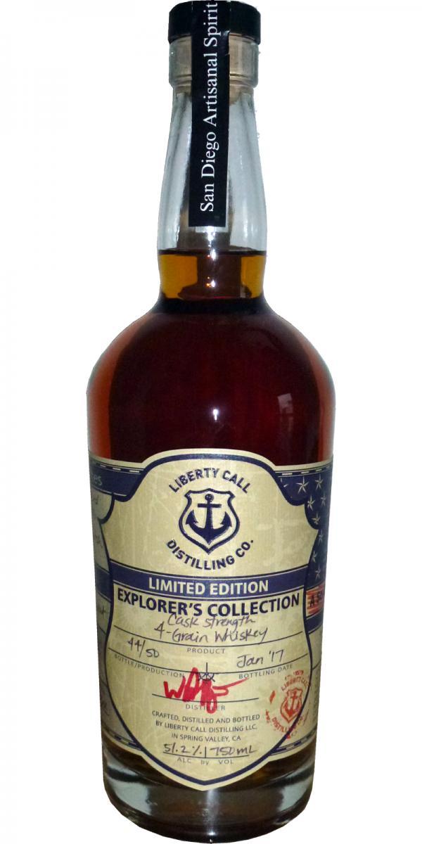 Liberty Call 4 Grain Whiskey