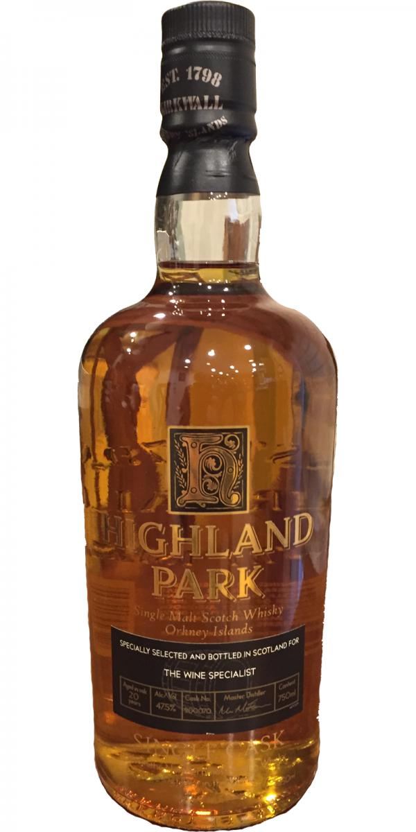 Highland Park 20-year-old