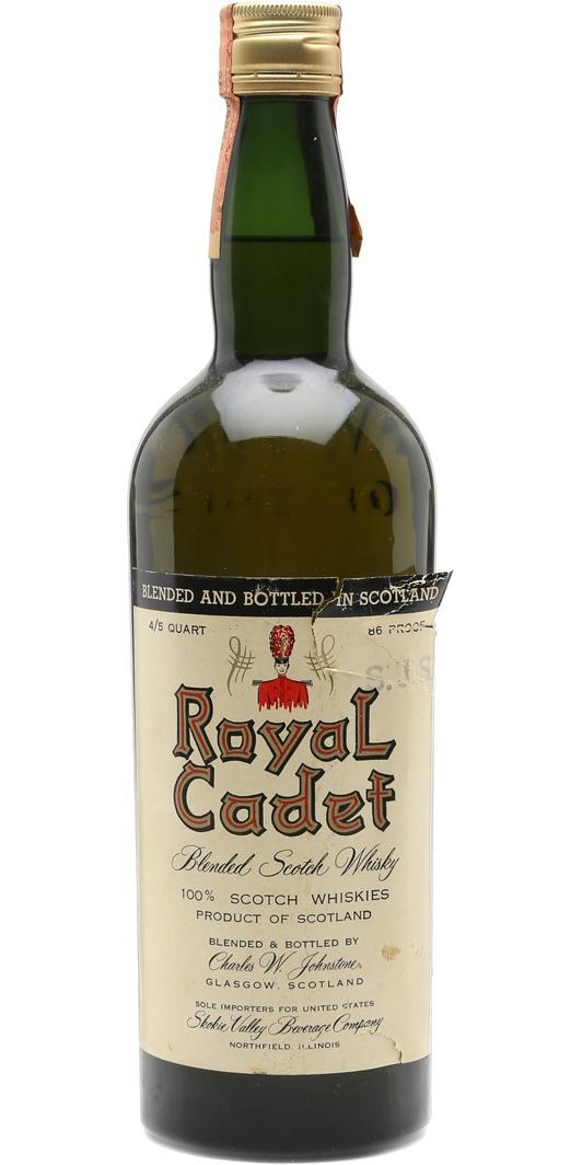 Royal Cadet Blended Scotch Whisky