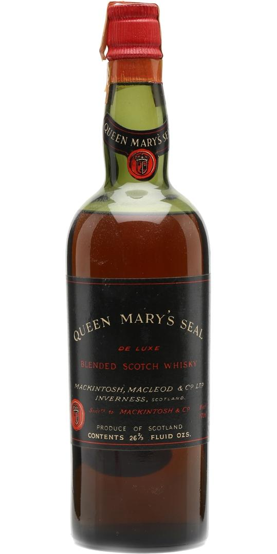 Queen Mary's Seal De Luxe Blended Scotch Whisky