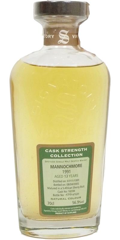 Mannochmore 1991 SV