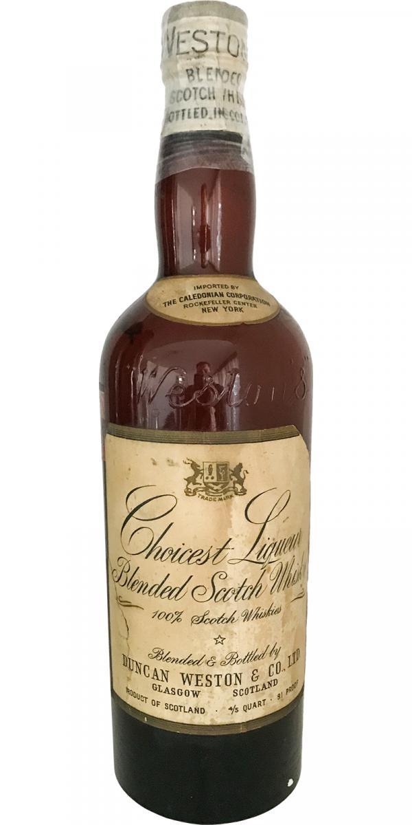 Choicest Liqueur Blended Scotch Whisky