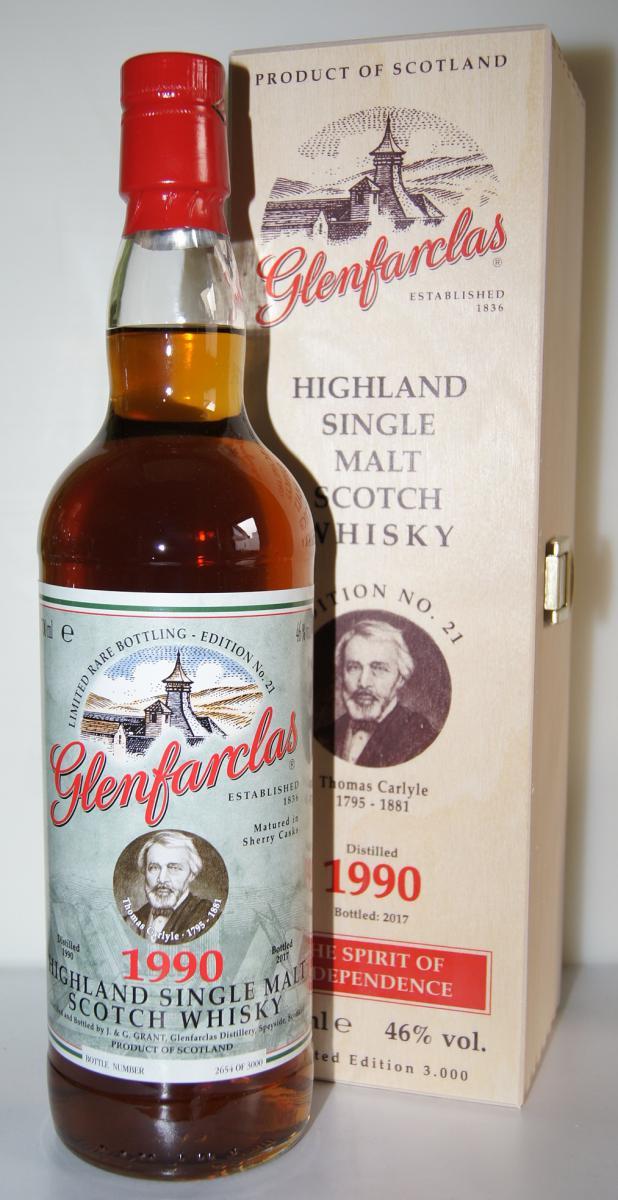 Glenfarclas 1990 Edition N°21