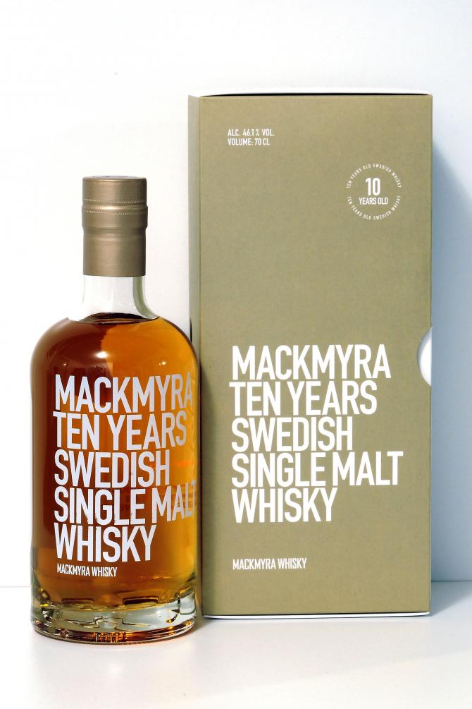 Mackmyra 10-year-old