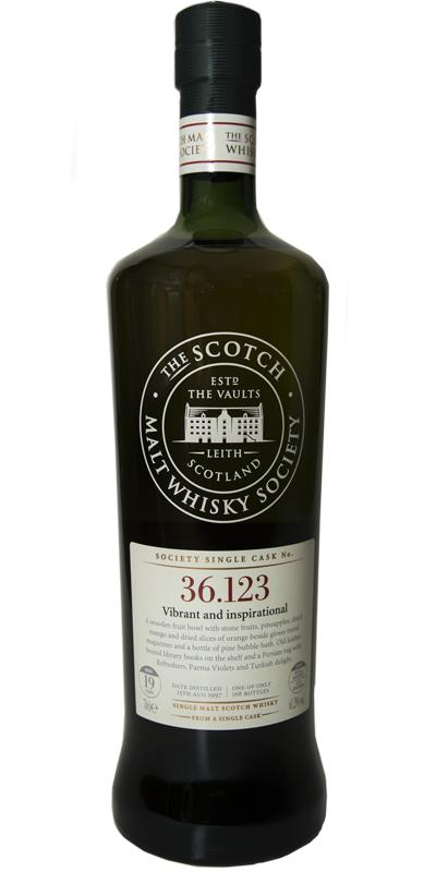 Benrinnes 1997 SMWS 36.123
