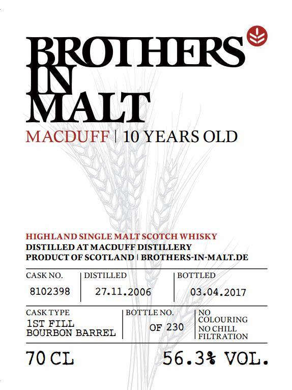 Macduff 2006 BiM